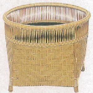 【茶器/茶道具 炭道具】 炭斗(炭取り) 清風籠 淡々斎好写 (花入れにも使用できます)