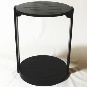 【茶器/茶道具 お棚】 丸卓 宗旦好写し マグネット式組立 棚ピタット付 炉・風炉用