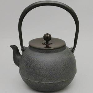 【茶器/茶道具 鉄瓶】 常磐(ときわ) 1440ml 菊池政光作
