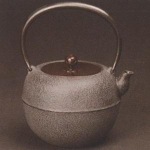 【茶器/茶道具 鉄瓶】 鉄鉢(てっぱつ・かなはち) 菊池政光作 1440ml