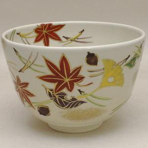 【茶器/茶道具 抹茶茶碗】 吹寄せ(吹き寄せ) 加藤永山作