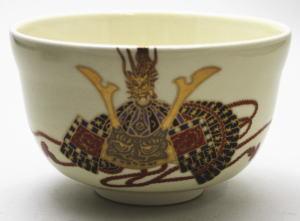 【茶器/茶道具 抹茶茶碗 端午の節句】 仁清写し 兜 宮地英香作