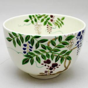【茶器/茶道具 抹茶茶碗】 藤の花 井口佳峰作