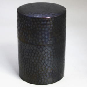 【茶筒】 槌目 銅製茶筒 150~200g用 茶合付(つち目)