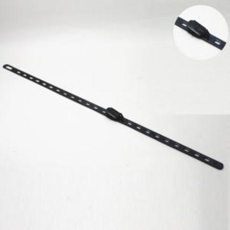 【茶道具 軸用掛物】 軸吊自在掛け金具 黄銅製(エレベータ) 長:55cm